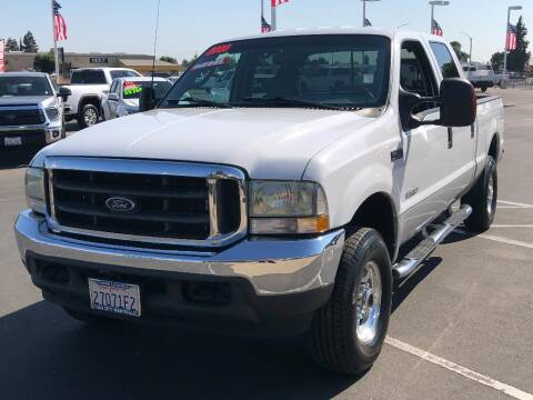 2003 Ford F-250 Super Duty for sale at Dow Lewis Motors in Yuba City CA