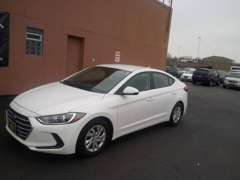 2017 Hyundai Elantra for sale at ENZO AUTO in Parma OH