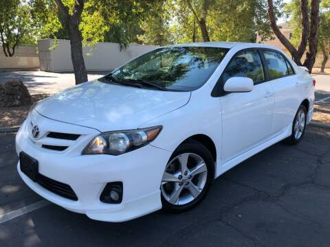 2011 Toyota Corolla for sale at Ideal Cars in Mesa AZ