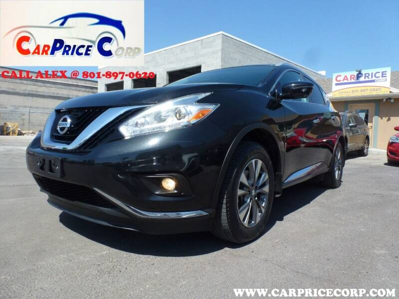 2017 Nissan Murano for sale at CarPrice Corp in Murray UT