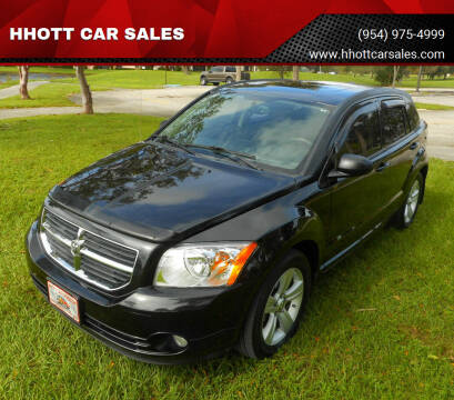 2011 Dodge Caliber for sale at HHOTT CAR SALES in Deerfield Beach FL