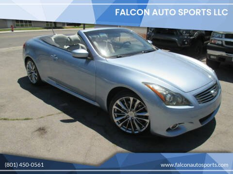 2012 Infiniti G37 Convertible for sale at Falcon Auto Sports LLC in Murray UT