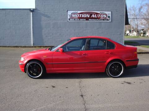 2004 BMW 3 Series for sale at Motion Autos in Longview WA