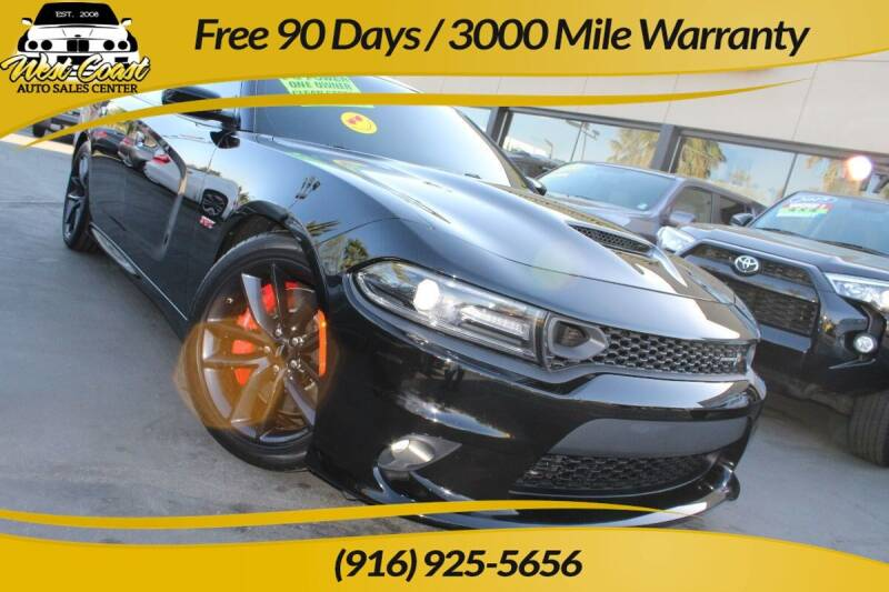 2019 Dodge Charger for sale at West Coast Auto Sales Center in Sacramento CA