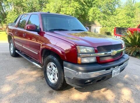 2005 Chevrolet Avalanche for sale at KAYALAR MOTORS - ECUFAST HOUSTON in Houston TX