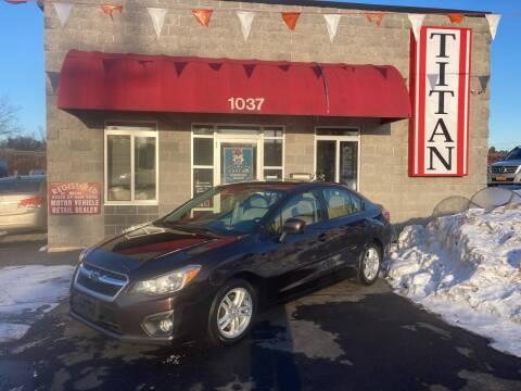 2013 Subaru Impreza for sale at Titan Auto Sales LLC in Albany NY
