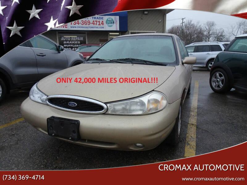 1999 Ford Contour for sale at Cromax Automotive in Ann Arbor MI