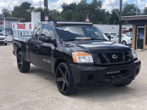 2015 Nissan Titan for sale at Safeen Motors in Garland TX