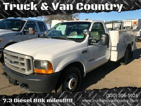 2001 Ford F-350 Super Duty for sale at Truck & Van Country in Shingle Springs CA