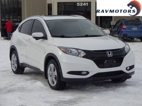 2016 Honda HR-V for sale at RAVMOTORS 2 in Crystal MN