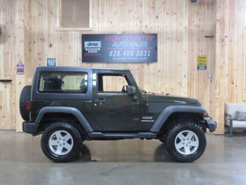 2011 Jeep Wrangler for sale at Boone NC Jeeps-High Country Auto Sales in Boone NC