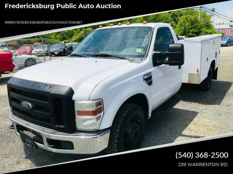 2008 Ford F-350 Super Duty for sale at FPAA in Fredericksburg VA