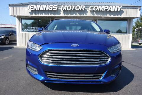 2015 Ford Fusion for sale at Jennings Motor Company in West Columbia SC