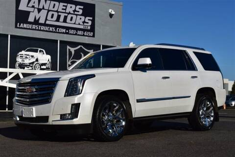 2016 Cadillac Escalade for sale at Landers Motors in Gresham OR
