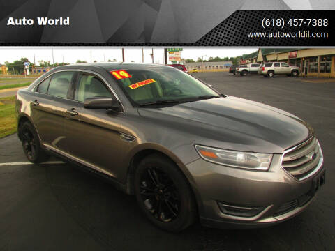 2014 Ford Taurus for sale at Auto World in Carbondale IL