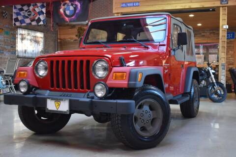 2001 Jeep Wrangler for sale at Chicago Cars US in Summit IL