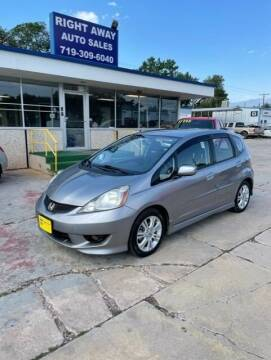 2010 Honda Fit for sale at Right Away Auto Sales in Colorado Springs CO