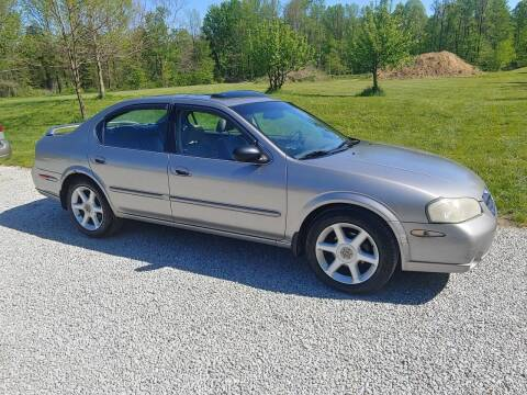 2001 Nissan Maxima for sale at Doyle's Auto Sales and Service in North Vernon IN
