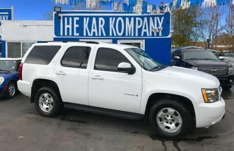 2007 Chevrolet Tahoe for sale at The Kar Kompany Inc. in Denver CO