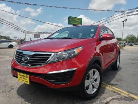 2012 Kia Sportage for sale at Pasadena Auto Planet in Houston TX