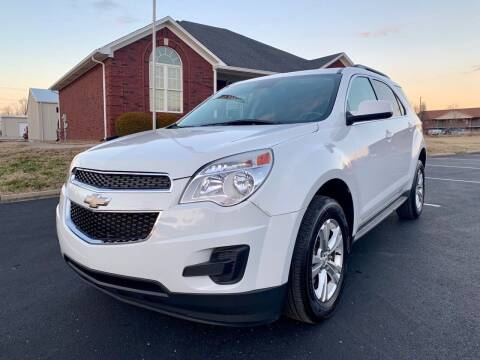 2012 Chevrolet Equinox for sale at HillView Motors in Shepherdsville KY