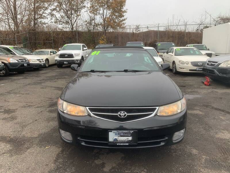 2001 Toyota Camry Solara for sale at 77 Auto Mall in Newark NJ