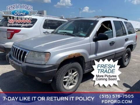2003 Jeep Grand Cherokee for sale at Fort Dodge Ford Lincoln Toyota in Fort Dodge IA