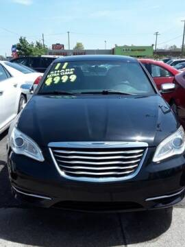 2011 Chrysler 200 for sale at Mastro Motors in Garden City MI