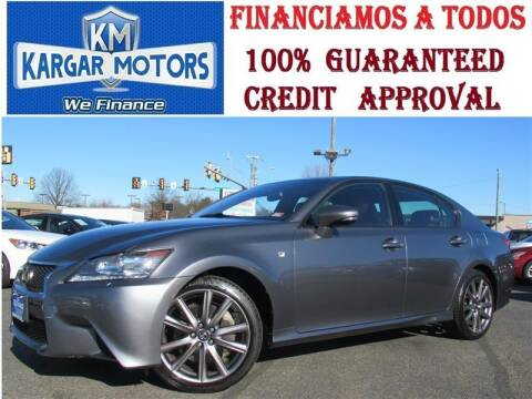 2015 Lexus GS 350 for sale at Kargar Motors of Manassas in Manassas VA