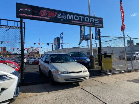 1999 Toyota Corolla for sale at GW MOTORS in Newark NJ