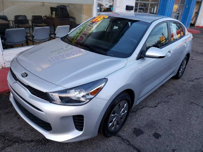 2019 Kia Rio for sale at AutoMotion Sales in Franklin OH
