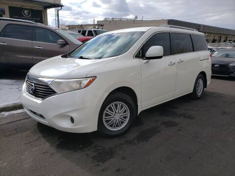 2012 Nissan Quest for sale at High Line Auto Sales in Salt Lake City UT