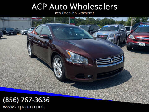 2014 Nissan Maxima for sale at ACP Auto Wholesalers in Berlin NJ
