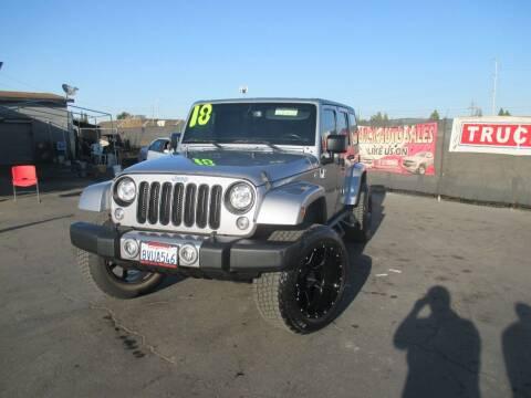 2018 Jeep Wrangler JK Unlimited for sale at Quick Auto Sales in Modesto CA