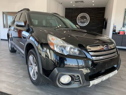 2013 Subaru Outback for sale at Evolution Autos in Whiteland IN