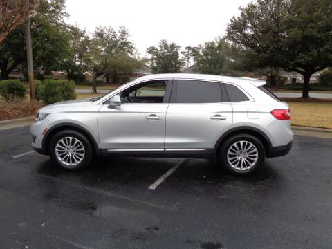 2016 Lincoln MKX for sale at BALKCUM AUTO INC in Wilmington NC