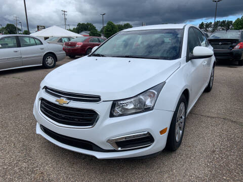 2016 Chevrolet Cruze Limited for sale at Blake Hollenbeck Auto Sales in Greenville MI