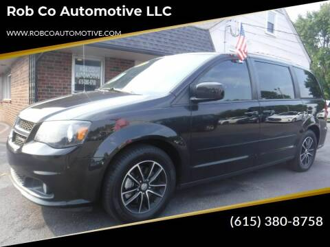2017 Dodge Grand Caravan for sale at Rob Co Automotive LLC in Springfield TN