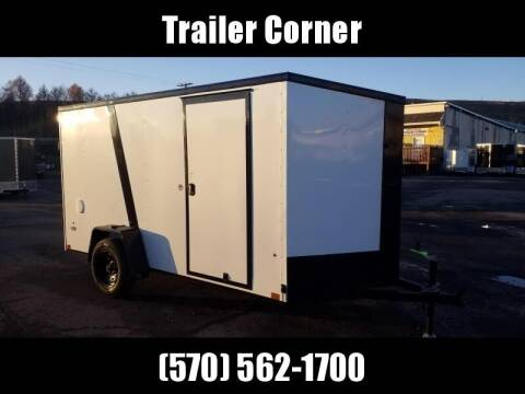 2022 Look Trailers STLC 6X12 BLACKED OUT - RAMP