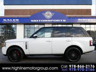 2012 Land Rover Range Rover for sale at Highline Group Motorsports in Lowell MA
