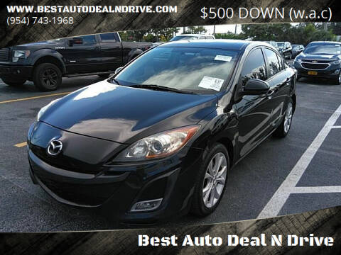 2010 Mazda MAZDA3 for sale at Best Auto Deal N Drive in Hollywood FL