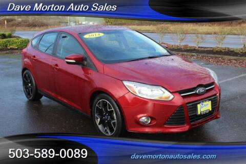 2014 Ford Focus for sale at Dave Morton Auto Sales in Salem OR