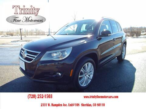 2011 Volkswagen Tiguan for sale at TRINITY FINE MOTORCARS in Sheridan CO