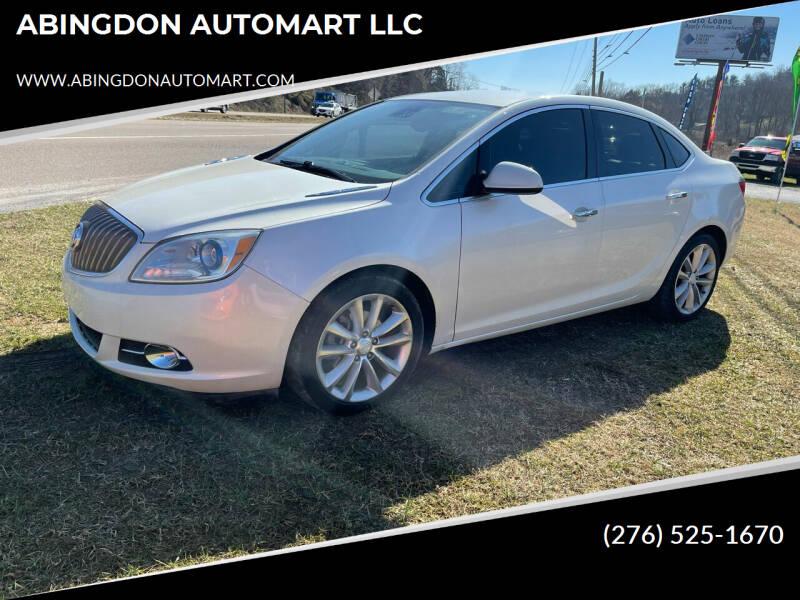 2012 Buick Verano for sale at ABINGDON AUTOMART LLC in Abingdon VA