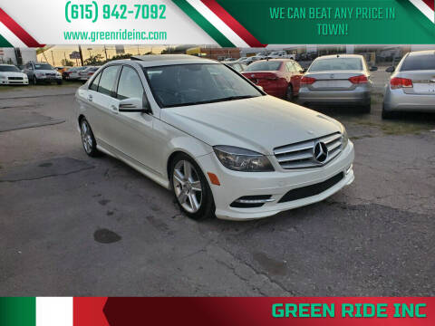 2011 Mercedes-Benz C-Class for sale at Green Ride Inc in Nashville TN