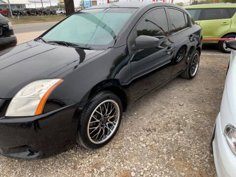 2011 Nissan Sentra for sale at BULLSEYE MOTORS INC in New Braunfels TX
