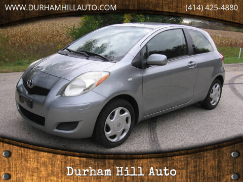 2010 Toyota Yaris for sale at Durham Hill Auto in Muskego WI