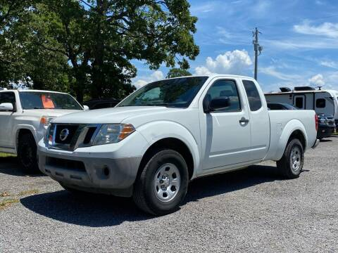 2016 Nissan Frontier for sale at TINKER MOTOR COMPANY in Indianola OK