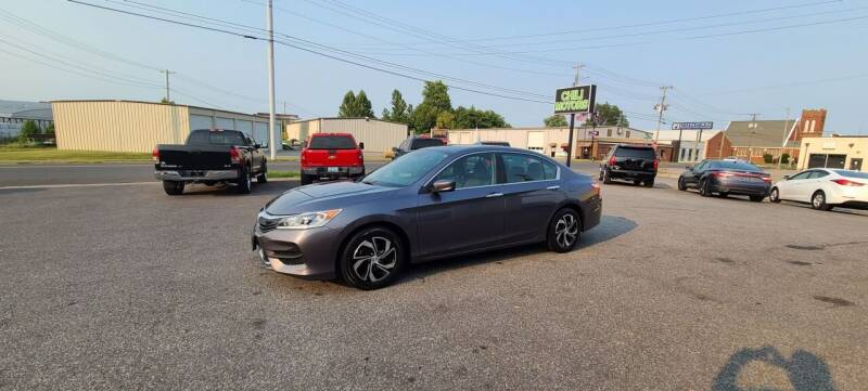 2016 Honda Accord for sale at CHILI MOTORS in Mayfield KY