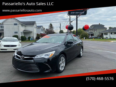 2015 Toyota Camry for sale at Passariello's Auto Sales LLC in Old Forge PA
